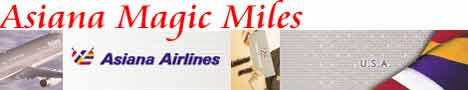 Asiana Magic Miles Frequent Flyer Program