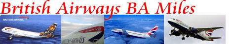 British Airways Executive Club Frequent Flyer Miles
