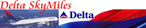 Delta Airlines SkyMiles Frequent Flyer Miles