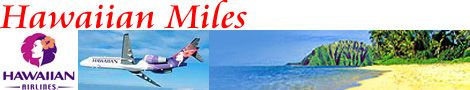Hawaiian Miles Frequent Flyer Program