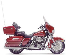 Harley Davidson Electra Classic Rentals in Cancun Mexico