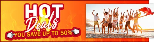 Hot Deals - Save up to 50% in Riviera Maya