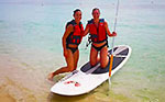Cozumel Paddleboarding Up North
