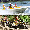 ATV & Speedboat Tour