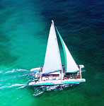 Catamaran Sailing Snorkeling Cancun