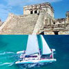 Tulum & Catamaran Sailing Tour