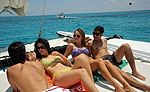 Catamaran Sailing Cancun