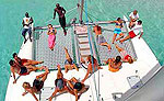 Group Catamaran Tour, Playa del Carmen