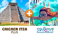 Xel Ha & Chichen Itza Plus