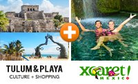 Combo Tour Package - Xcaret & Tulum