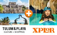 Xplor & Tulum Combo Tour