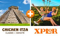 Xplor & Chichen Itza Combo Tour