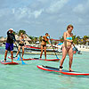 Costa Maya Paddle Boarding