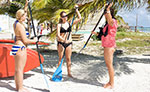 Paddle Board Lessons Costa Maya Mexico