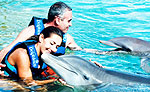 Couples Dolphin Swim - Playa del Carmen Mexico