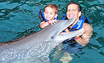 Dolphin Swimming Playa del Carmen