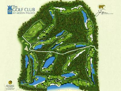 Golf Club at Moon Palace  Cancun Golf Course