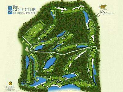 Golf Club at Moon Palace  Cancun Golf Course