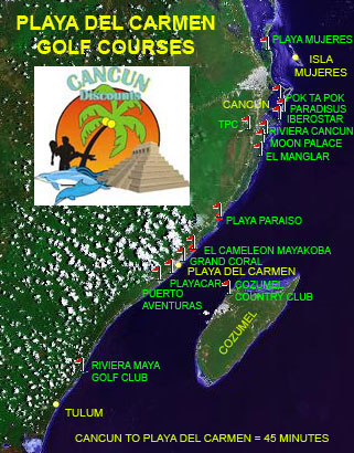 Playa Del Carmen Golf Courses Tee Times Rates Course Maps