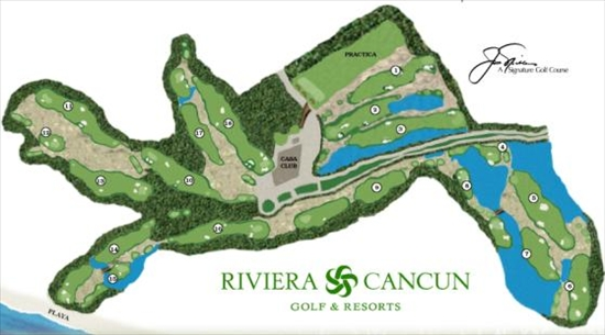 Riviera Cancun Golf Course - Cancun, Mexico on