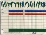 Playacar Golf Scorecard