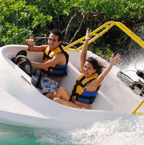 Cancun Speed Boat Tour