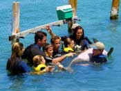 Cancun Dolphin Trainer