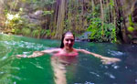 Private Cenote Swim Tour