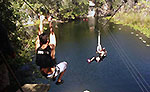 Zip Lines and Cenotes