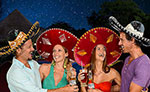 Mexican Fiesta at Xoximilco Cancun