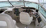 Cockpit - 54' Boat Rental, Cancun Mexico